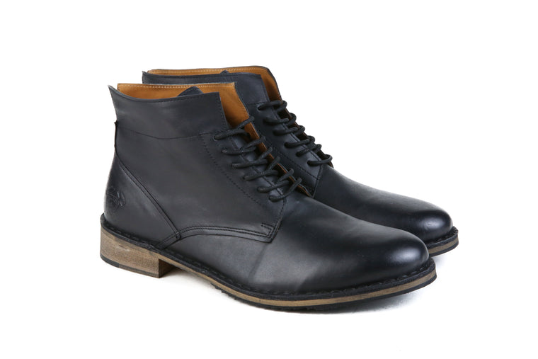 The Sawyer | Black, Shop Hound & Hammer Men's Handcrafted Boots