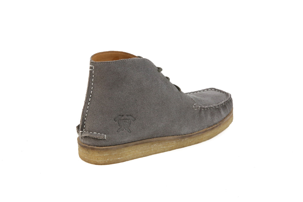 The Wallace | Grey, Shop Hound & Hammer Men's Handcrafted Boots