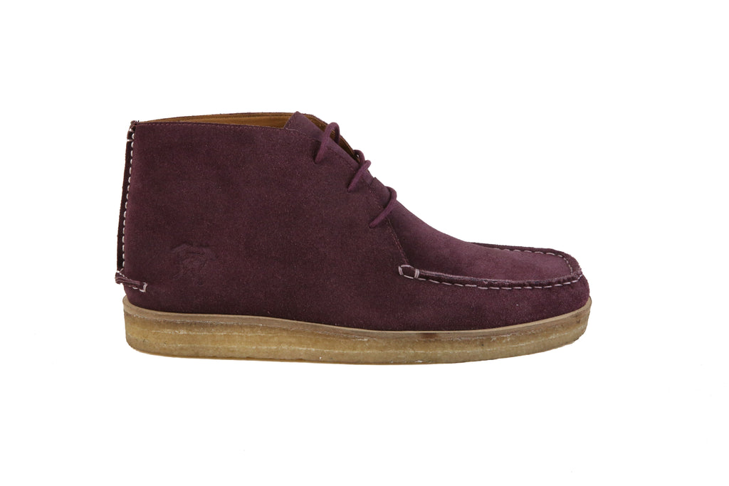 The Wallace | Wine, Shop Hound & Hammer Men's Handcrafted Boots