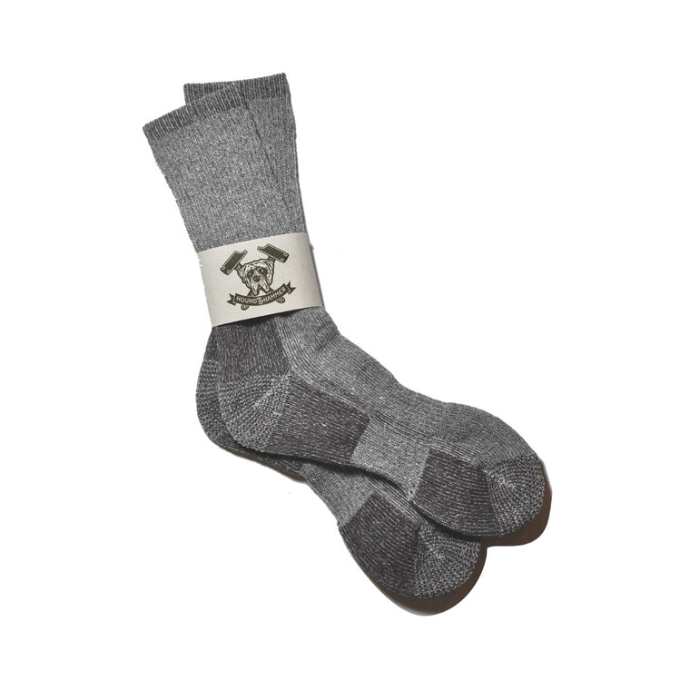 Heathered Brown Boot Sock, Mens Boot Sock, - Hound & Hammer