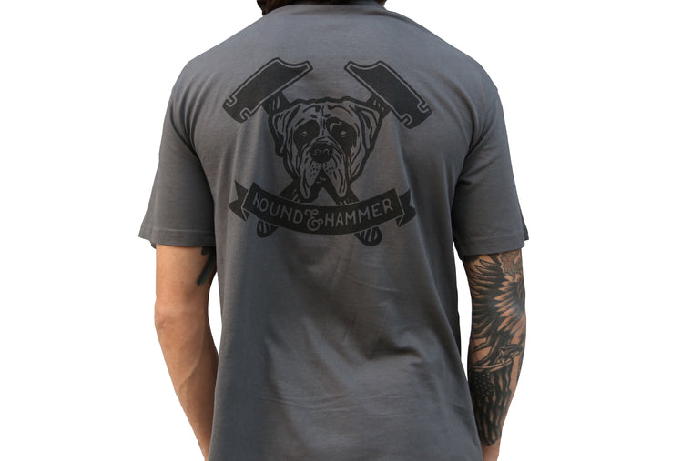 Hound and Hammer T-Shirt, Shop Hound & Hammer Men's Handcrafted Boots