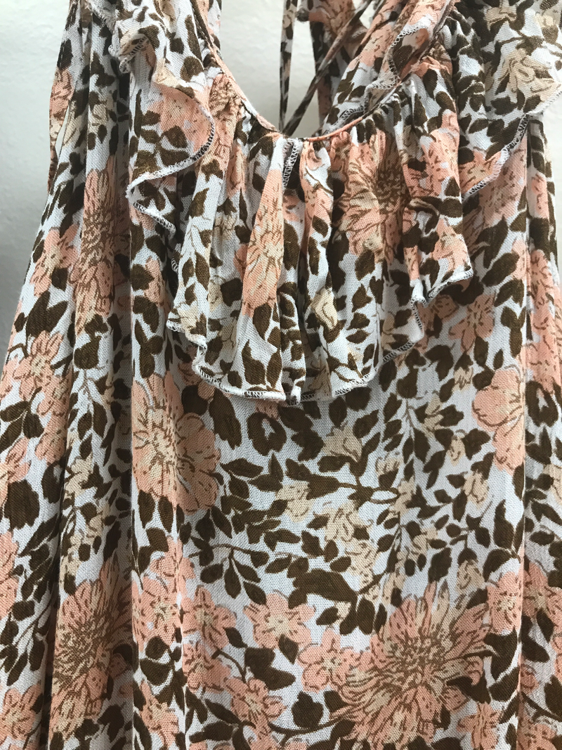 EC brown leopard  dress