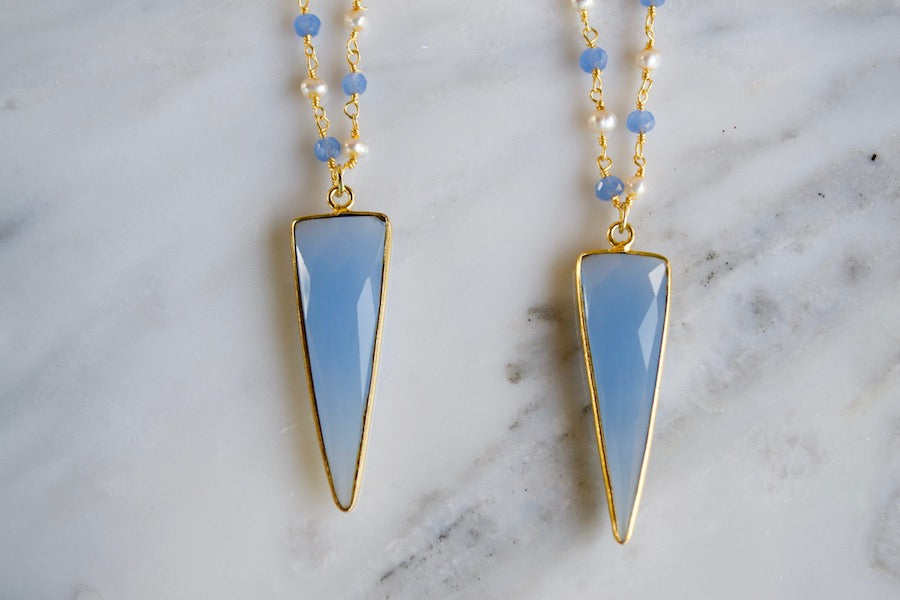 Blue Chalcedony Arrow 2