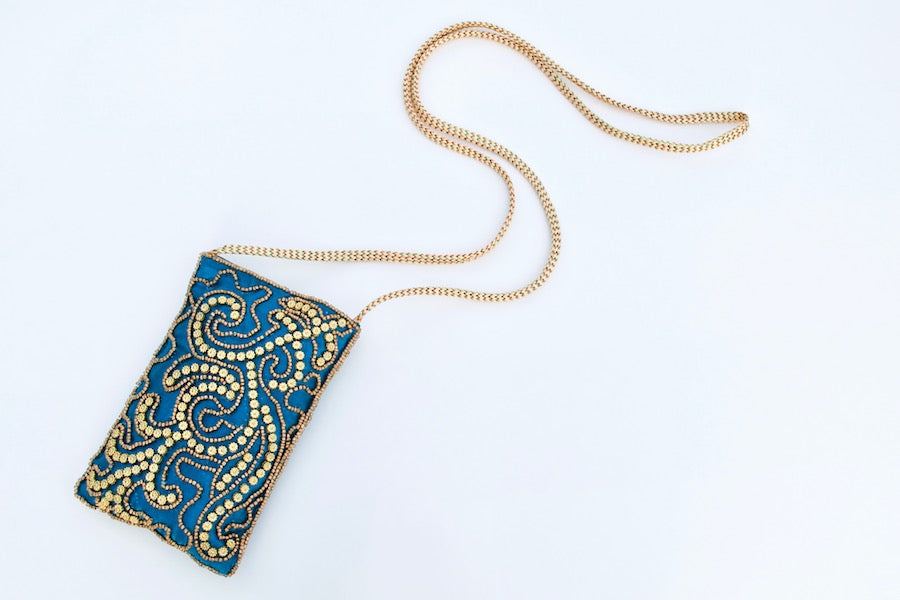 Blue Sundance Mini Purse
