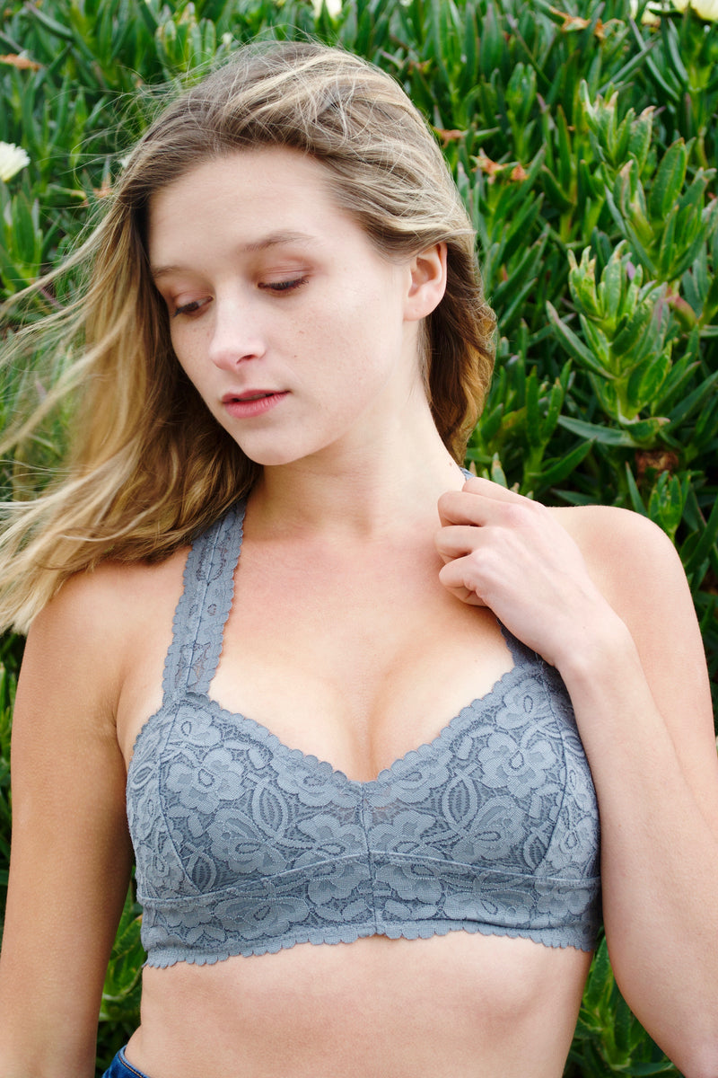 FP Dark Grey Bralette