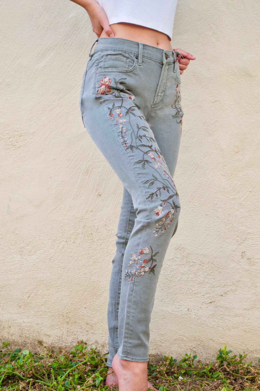 Driftwood Jackie Olive Jeans