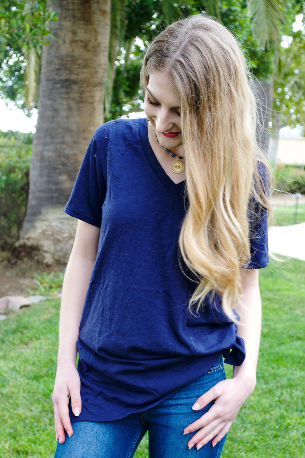 HP Navy Blue T-shirt