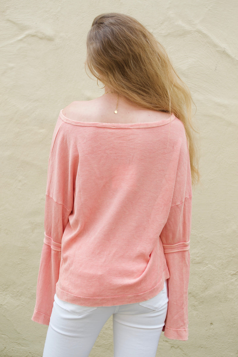 HB Peach Bella Top