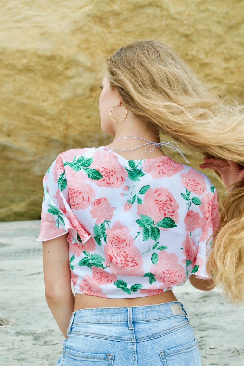 Mumu English Rose Top
