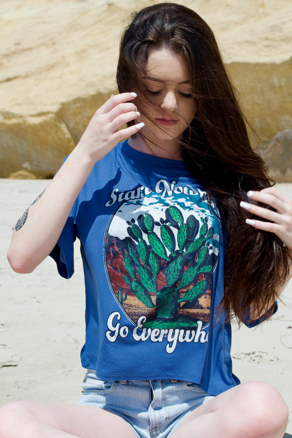 Life Start Nowhere Go Everywhere Tee