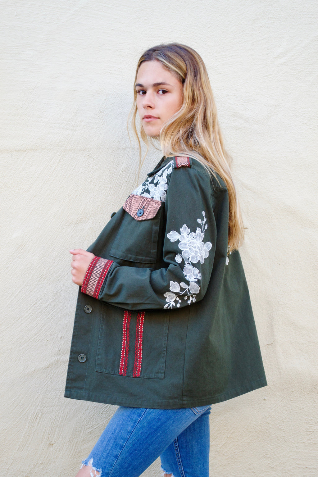Driftwood Dark Green Jacket