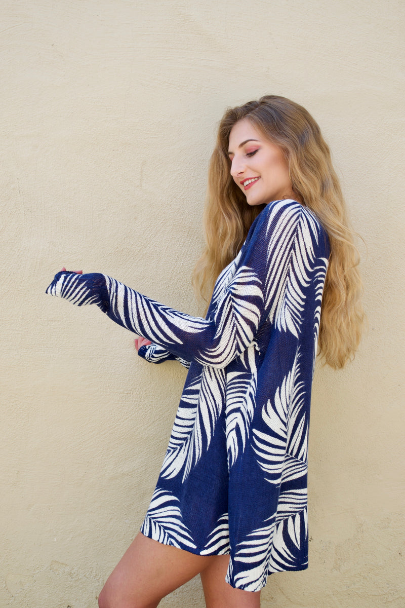 Mumu Summer Palm Sweater