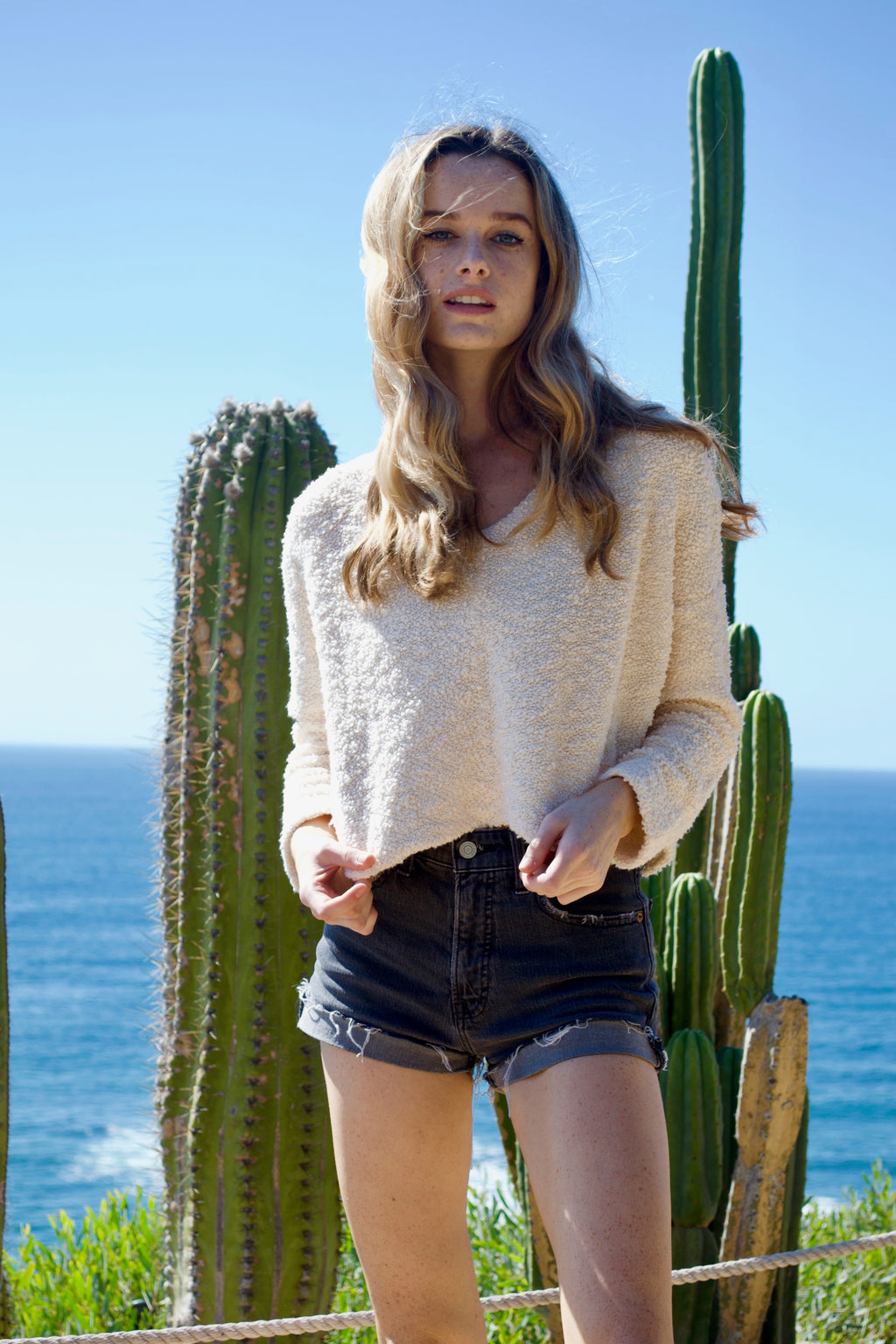 FP Cream Sweater