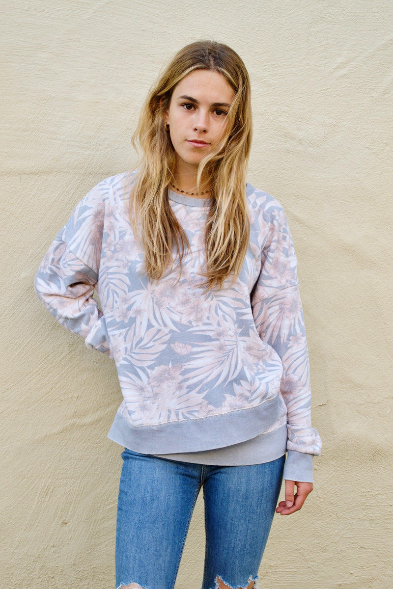 VH Grey Palm Sweater