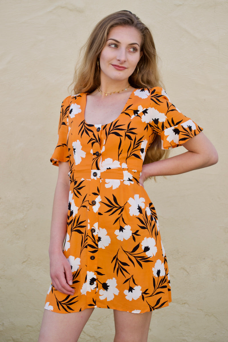 Oliv Tiger Dress