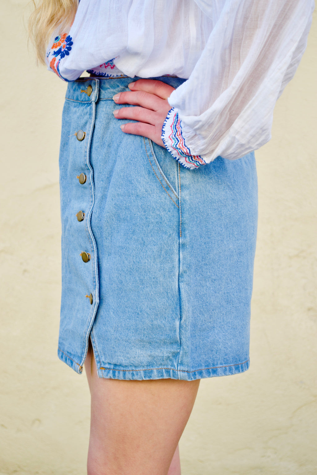 HB Denim Skirt