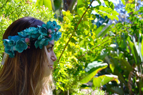 Flower Crown-Mermaid Cove