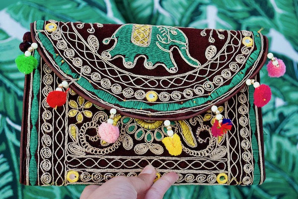 Elephant Tiki Clutch 3
