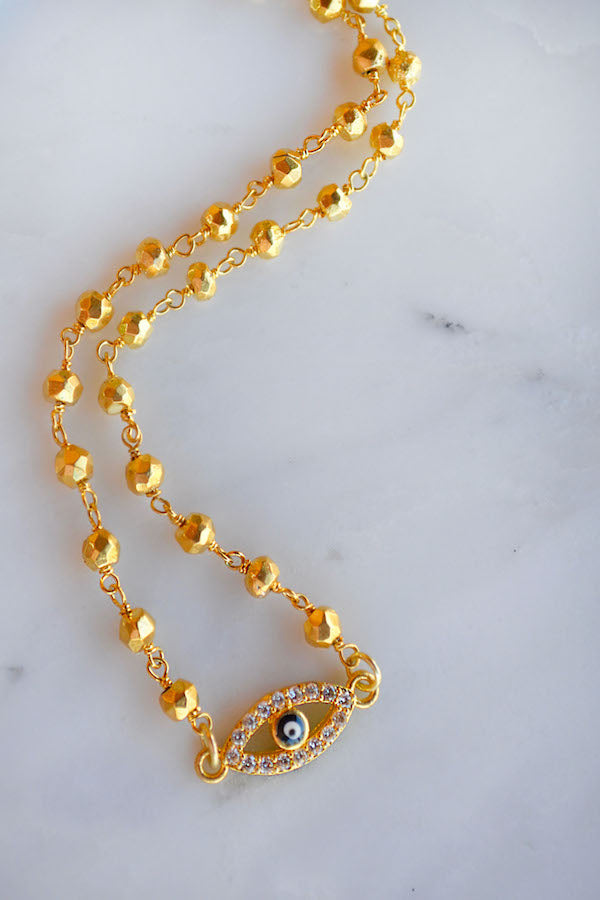 Golden Evil Eye