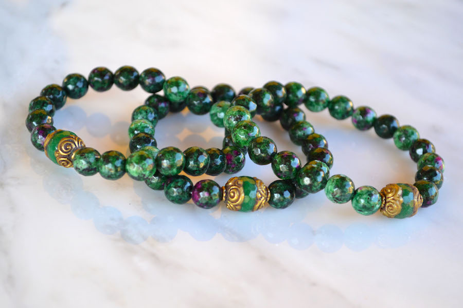 Green Speckle Agate 2