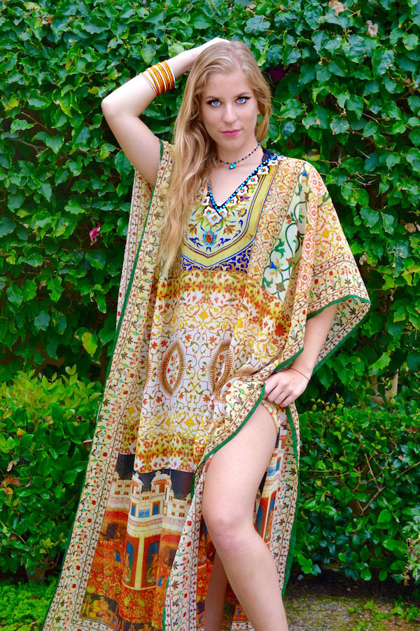 Indian Palace Kaftan 2