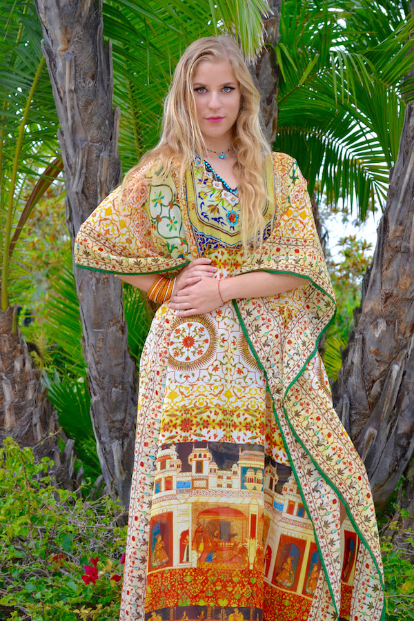 Indian Palace Kaftan