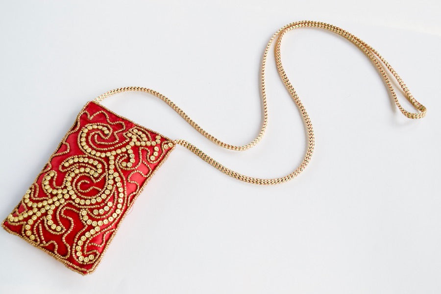 Red Sundance Mini Purse