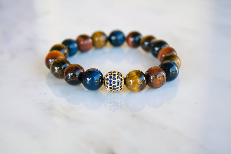 Saphire Tigers Eye