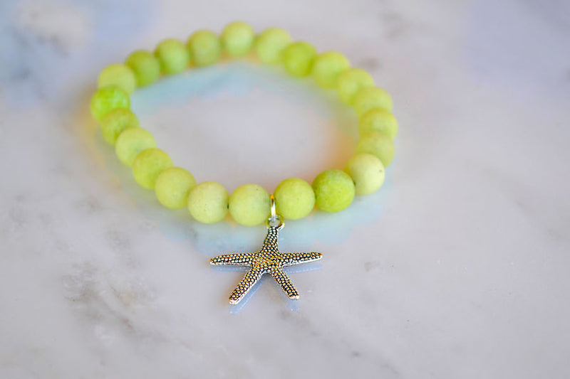 Starfish Matte Green JAde