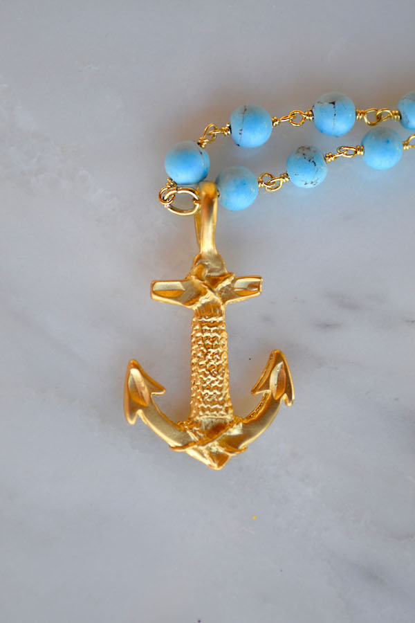 Turquoise Anchor 2