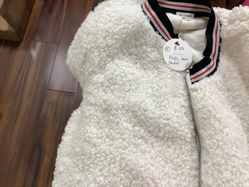 EC fluffy lamb jacket