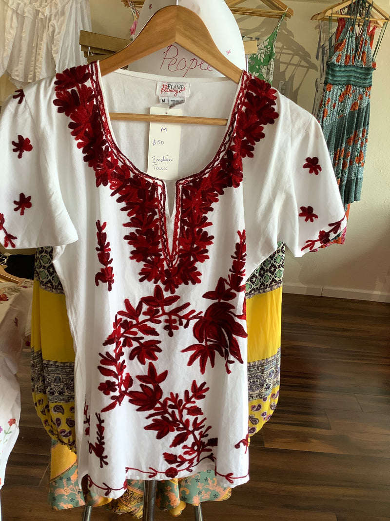 F&F Red Indian Tunic
