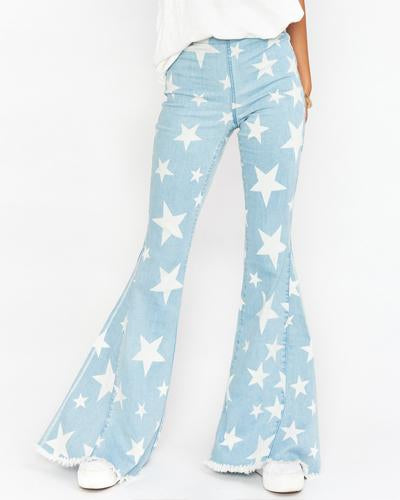 Mumu You're a Star Berkeley Bell Jeans