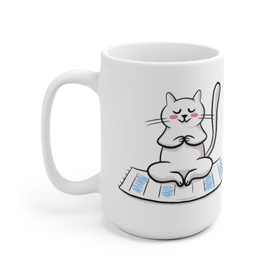 Yoga Cat Coffee Mug - MOG-10