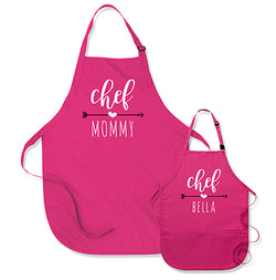Chef Mommy / Chef (Custom Kid's Name)