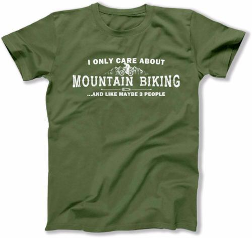 MENS - I Only Care About Mountain Biking - MD-316