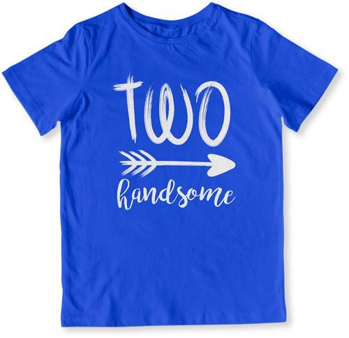 TODDLER TEE - Two Handsome - CTM-912