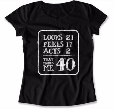 LADIES - Looks 21 Feels 17 Acts 2 That Makes Me 40 - DAT-144