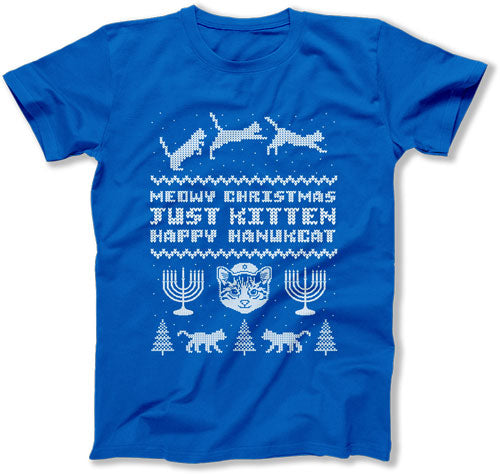 Meowy Christmas. Just Kitten. Happy Hanukcat. - DN-263