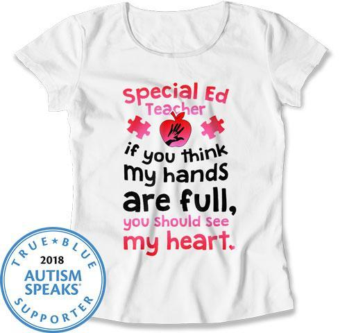 LADIES - Special Ed Teacher with a Full Heart - DN-447
