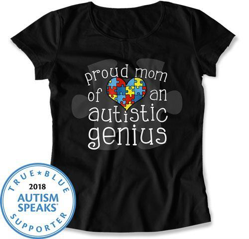 LADIES - Proud Mom of an Autistic Genius - DN-455