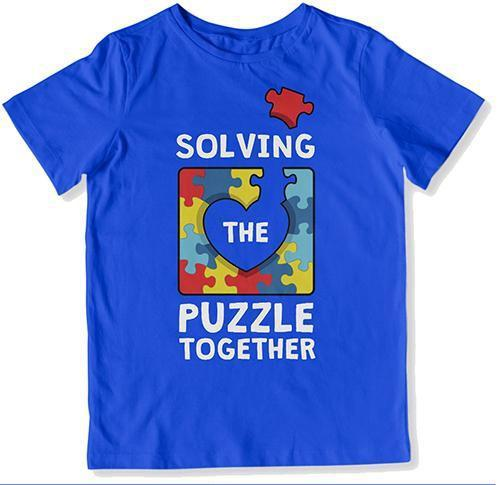 TODDLER TEE - Solving the Puzzle Together - DN-458