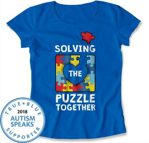LADIES - Solving the Puzzle Together - DN-458