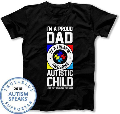 MENS - Proud Dad of an Autistic Child - DN-543