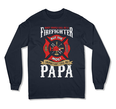 Firefighter Papa T-Shirt - DN-601