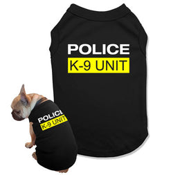 Police K-9 Unit Dog Tank Top - DOG-01