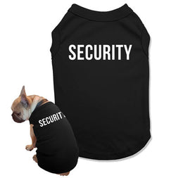 Security Dog Tank Top - DOG-02