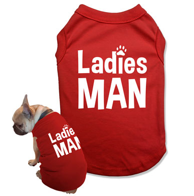 Ladies Man Dog Tank Top - DOG-03