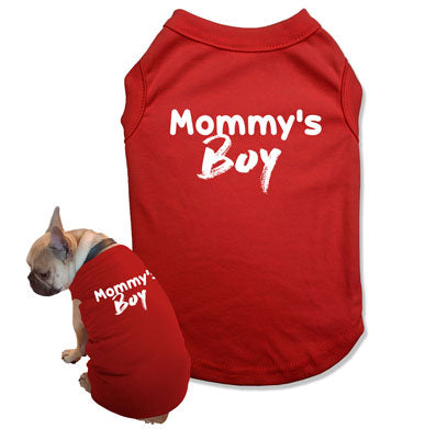Mommy's Boy Dog Tank Top - DOG-05