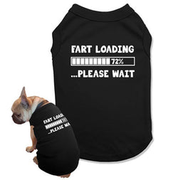 Fart Loading Please Wait Dog Tank Top - DOG-12
